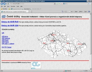 RVD obrazovka dotazovaci web modul CZ